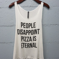 Pizza is Eternal Graphic Tee
