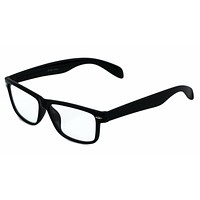 Rectangle Unisex Clear Glasses