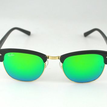 Ray-Ban Clubmaster Sunglasses 49mm Black Frame