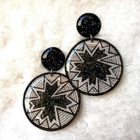 BANG BANG EARRING Black&White