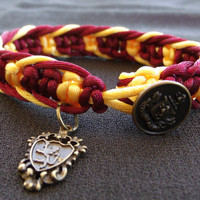 Harry Potter Gryffindor Bracelet with Charm