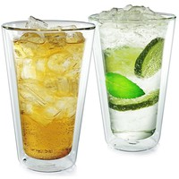 Carthage Double Wall Pint Glasses