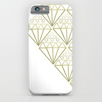 DIAMONDS iPhone & iPod Case by Annie Neusteter   Society6