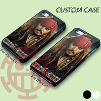 Johnny Depp for iPhone 5/5S, 5C Case, iPhone 4/4S Case, Samsung Galaxy S3 i9300, S4 i9500 Case.