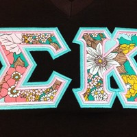 Sorority Greek Letters