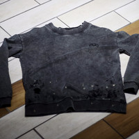 Civil - French Terry Wrecked Crewneck - Charcoal