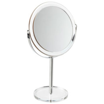 The Container Store > Countertop Pedestal Mirror