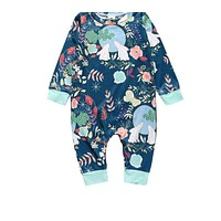 Baby Girl boy Clothes born baby cotton baby girl's sliders long-sleeved baby product baby jumpsuit