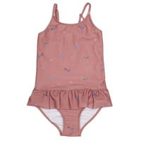 Ruffle Swimsuit, Rosa Mermaids