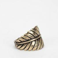 Feather Around My Finger Ring - Urban Outfitters