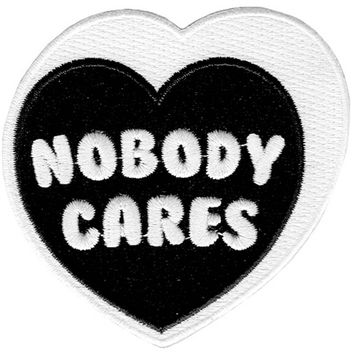 Nobody Cares Patch [B]