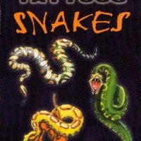 Glow-in-the-Dark Tattoos Snakes (Dover Tattoos)