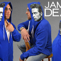 "James Dean ""Torn Sweater"" series Licensed Hoodie"