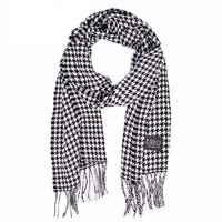 Men's Houndstooth Scarf