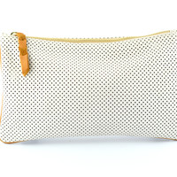 Perforated Clutch | Off White - K.slademade