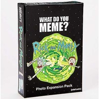 What Do You Meme Rick and Morty Expansion Pack - Spencer's