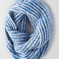 AEO Marled Infinity Scarf , Blue   American Eagle Outfitters