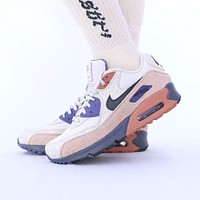 Nike Air Max 90 men's and women's atmospheric cushion sneakers shoes