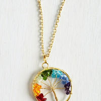 Tree of Blithe Necklace by ModCloth