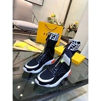 Fendi Women's Leather Fashion Sneakers Shoes
