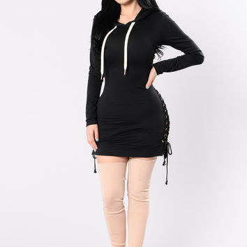 See What I Can Do Dress - Black