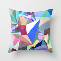 Colorflash 8 Throw Pillow by Mareike Böhmer Graphics