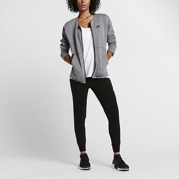 The Nike Sportswear Tech Fleece Women's Jacket.