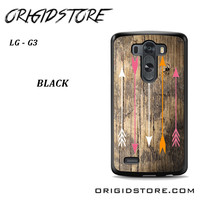 Wood And Arrow For LG G3 Case UY