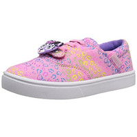 Bumbums & Baubles Girls Spencer Printed Canvas Fashion Sneakers