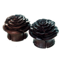 Areng Rose Wood Plugs (8mm-25mm)