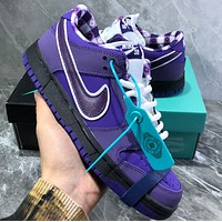 "Concepts x Nike SB Dunk Low ""Purple Lobster"" Shoes"