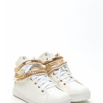 Chain Gang High Top Sneakers