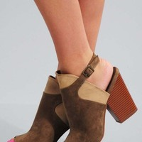 Show Me Love Booties: Taupe - Shoes - Hope's Boutique