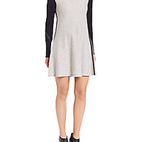 rag & bone/JEAN - Francine Long-Sleeve Sweater Dress - Saks Fifth Avenue Mobile