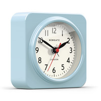 Biscuit Alarm Clock in Kettle Blue design by Newgate