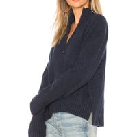 360CASHMERE Essence Sweater in Navy