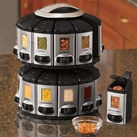 Auto Measure Spice Racks @ Fresh Finds