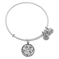 Disney Parks Alex and Ani Ariel Little Mermaid Silver Bracelet Charm