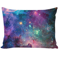 galaxy pillow case :D