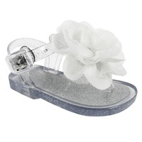 Wee Kids Jelly Flower Sandals - Baby Girl