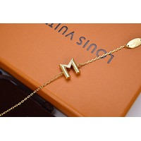 lv louis vuitton woman fashion accessories fine jewelry ring chain necklace earrings 57