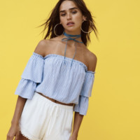 New Dawn Off Shoulder Top