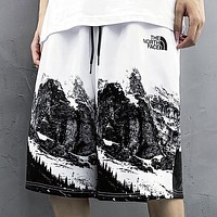 The North Face Summer New Fashion Letter Print Shorts