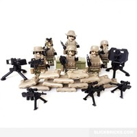 Heavy Weapons Squad - Lego Compatible Mini Figures