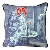 Turn of the Century Inspired Embroidered Pillows