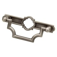 Liberty 3 in. (76 mm) Heirloom Silver Emblem Bail Pull-P27984C-904-C - The Home Depot