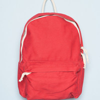 Red and White Backpack - Bags & Backpacks - Accessories