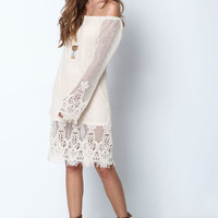 MERMAID CROCHET NETTED DRESS