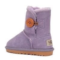 High quality UGG Girls Boys Children Baby Toddler Kids Child Fashion Casual Boots Shoes