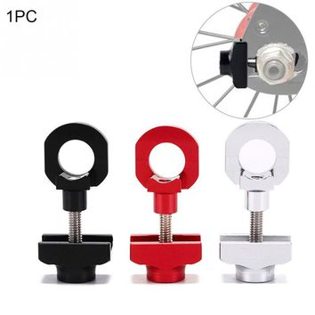 Bicycle Chain Adjuster Tensioner Fastener Aluminum Alloy Bolt For BMX Fixie Bike Single speed Bicycle Bolt Screw